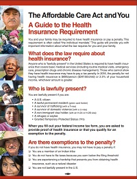 ACA Guide to the Health Insurance Requirement