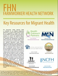FHN Key Resources for Migrant Health