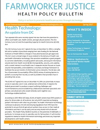 Health Policy Bulletin Spring 2017