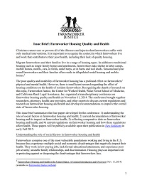 Issue Brief Farmworker Housing and Health