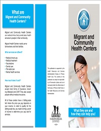 Migrant and Community Health Center Brochure