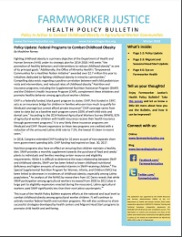 Health Policy Bulletin Winter 2018
