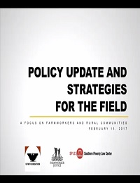 Webinar Policy Updates and Strategies from the Field